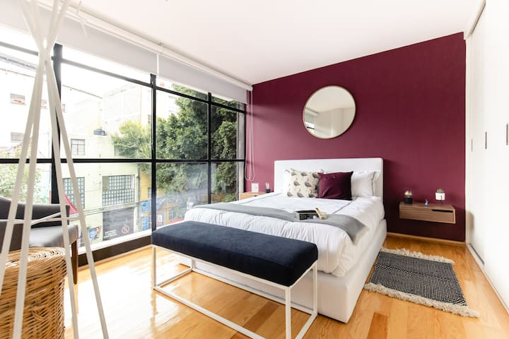 Stylish 2BR Apt. with Private Terrace!