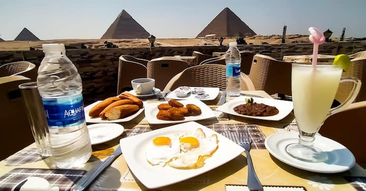 Relax and see the magic of Egypt