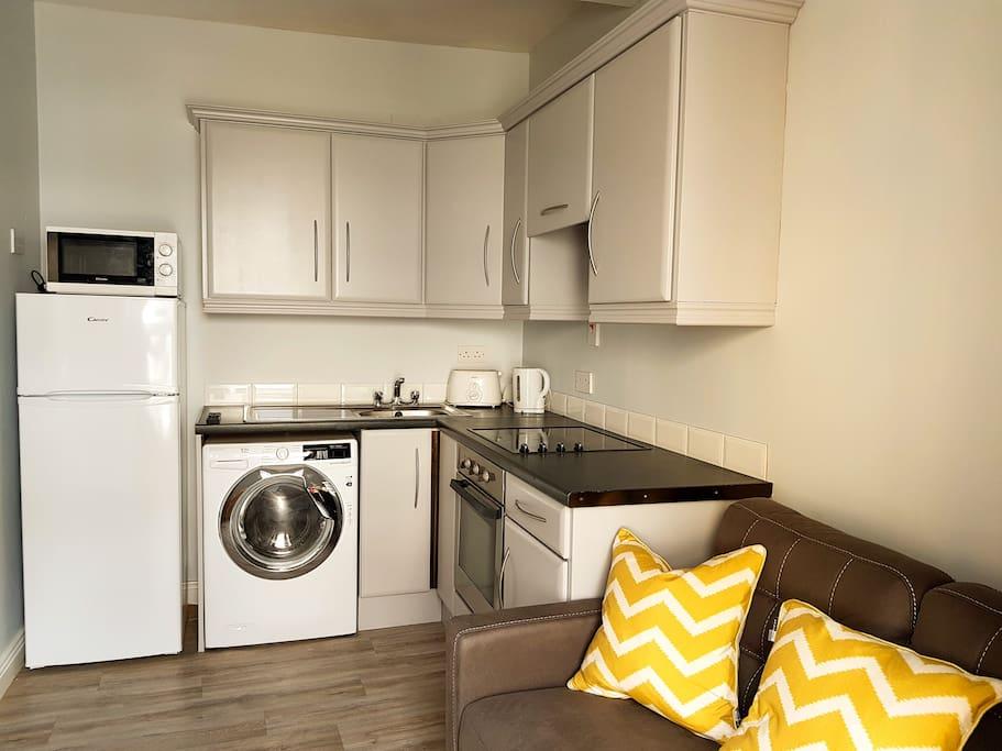 Apt 2 Kitchen/Living