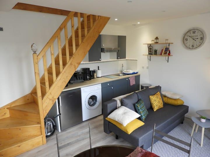 Duplex rénové  belle vue  avec terrasse privée 8m²