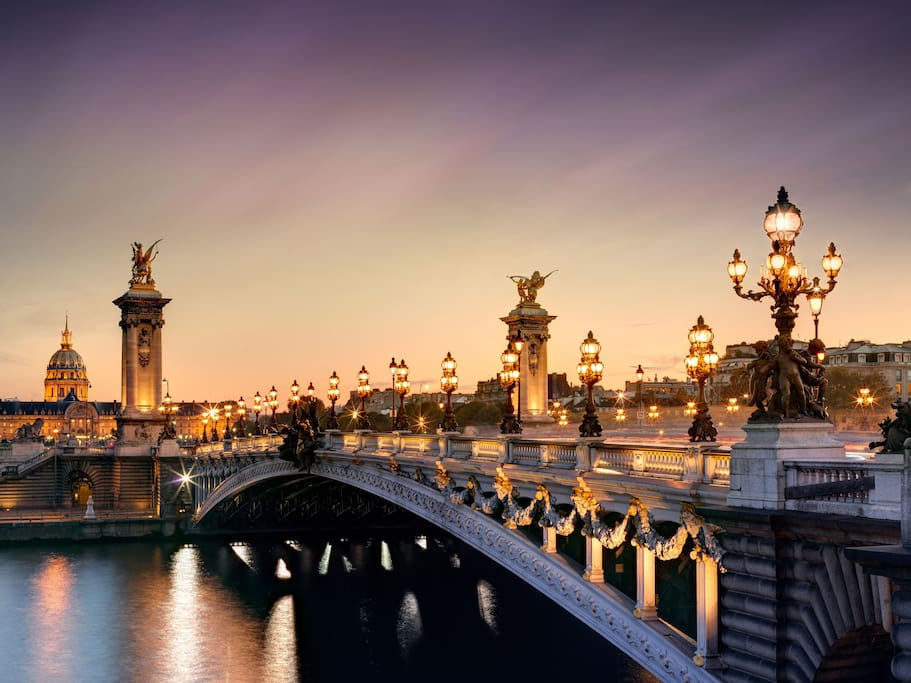 Paris - Pont Alexandre 3