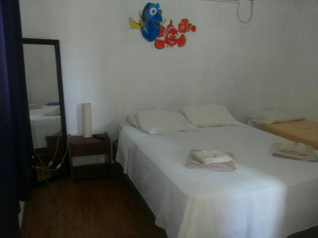 Casa prática em Fernando de Noronha