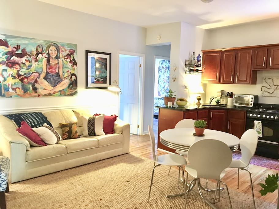 Artsy And Charming Retreat In Lefferts Garden Apartments For Rent In Brooklyn New York