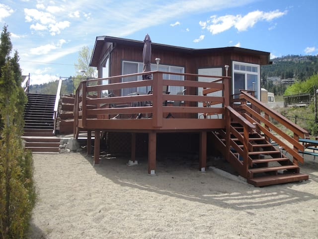 Okanagan Lake Vacation Cabin - West Kelowna - Casa de campo