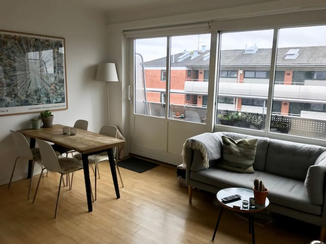 Great location rooftop apartment in Nørrebro