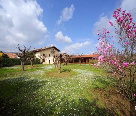 Villa lussuosa del cinquecento immersa nel verde - Prevalle - Villa