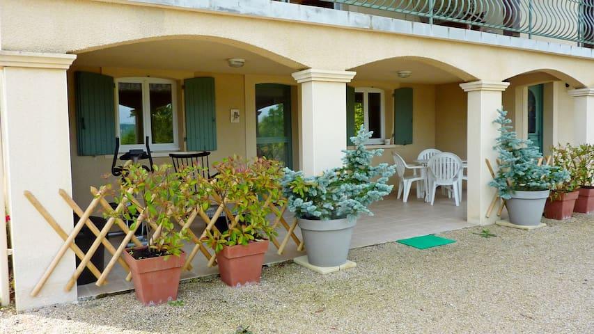 Gite Dordogne (Badefols Lalinde, Bergerac, Sarlat) - Badefols-sur-Dordogne - Hus