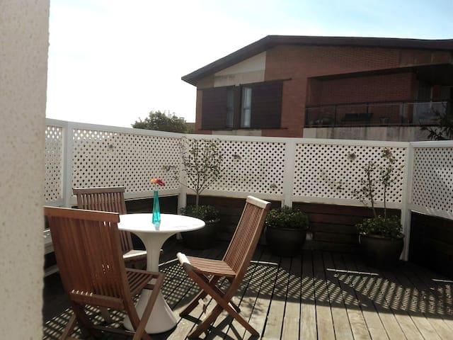 Loft con terraza en Neguri