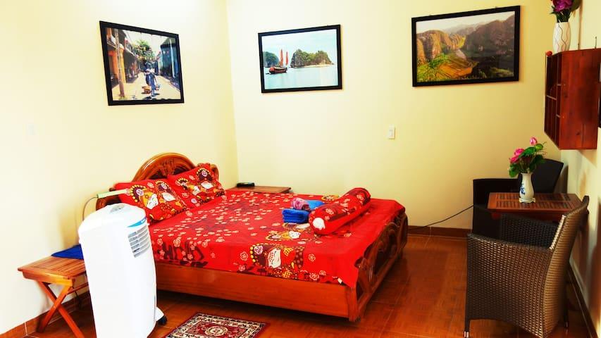 Spacious room with bathroom+balcony - Free ebike!! - Thành phố Nha Trang - บ้าน