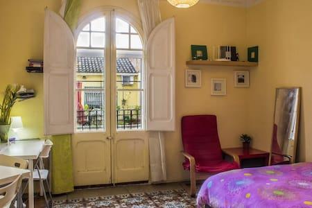 Centric sunny doubleroom & balcony - Barcelona