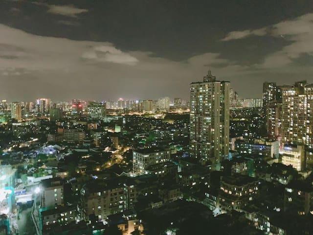 【晚安】北京路上下九步行街/沙面/长寿路地铁站/老西关/陈家祠/温馨公寓带无敌大夜景
