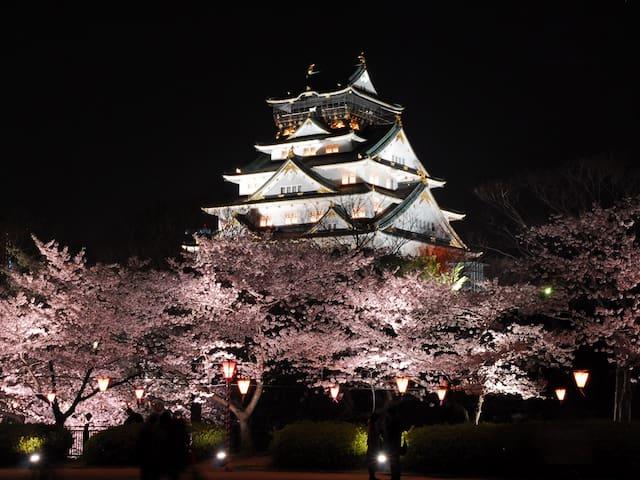 大阪城、京都までアクセス良し! Near station 302 - 大阪市