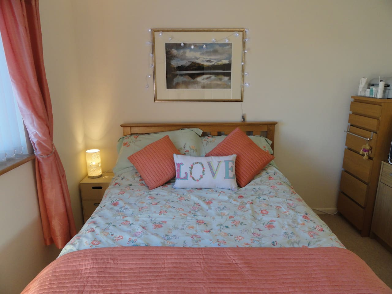 Your room...comfortable and fresh
