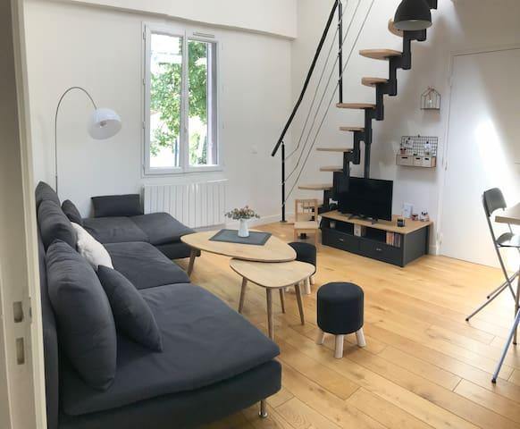 Duplex moderne et accueillant
