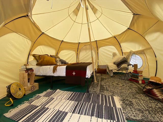 Off the Grid Glamping Tent