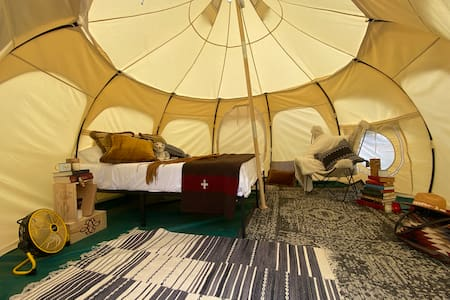 Off the Grid Furnished Lotus Belle Tent
