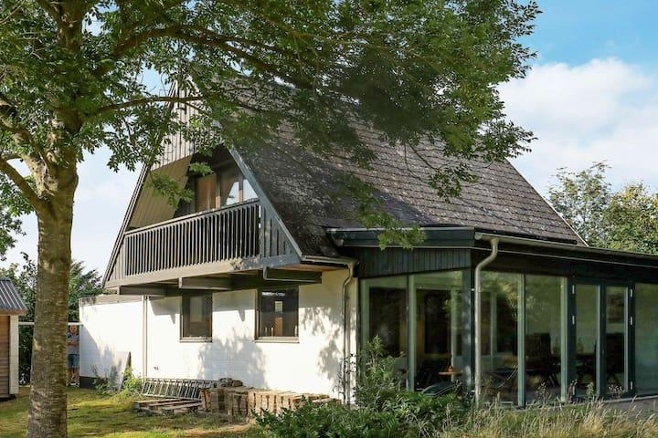 Maison de vacances paisible au Jutland avec terrasse
