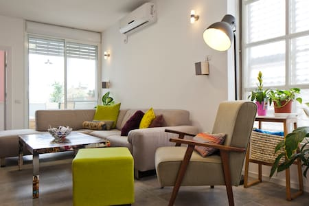 New comfy room w/private bathroom - Tel Aviv-Yafo - Apartemen