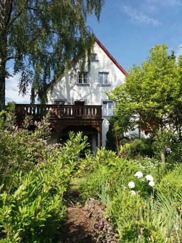 Haus Forstamt - kleine Terrassenwohnung