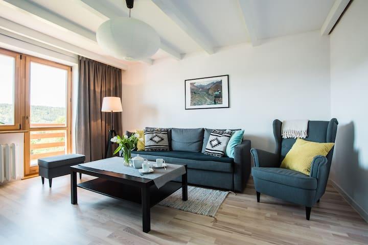 Apartament pod Lawortą - Bieszczady