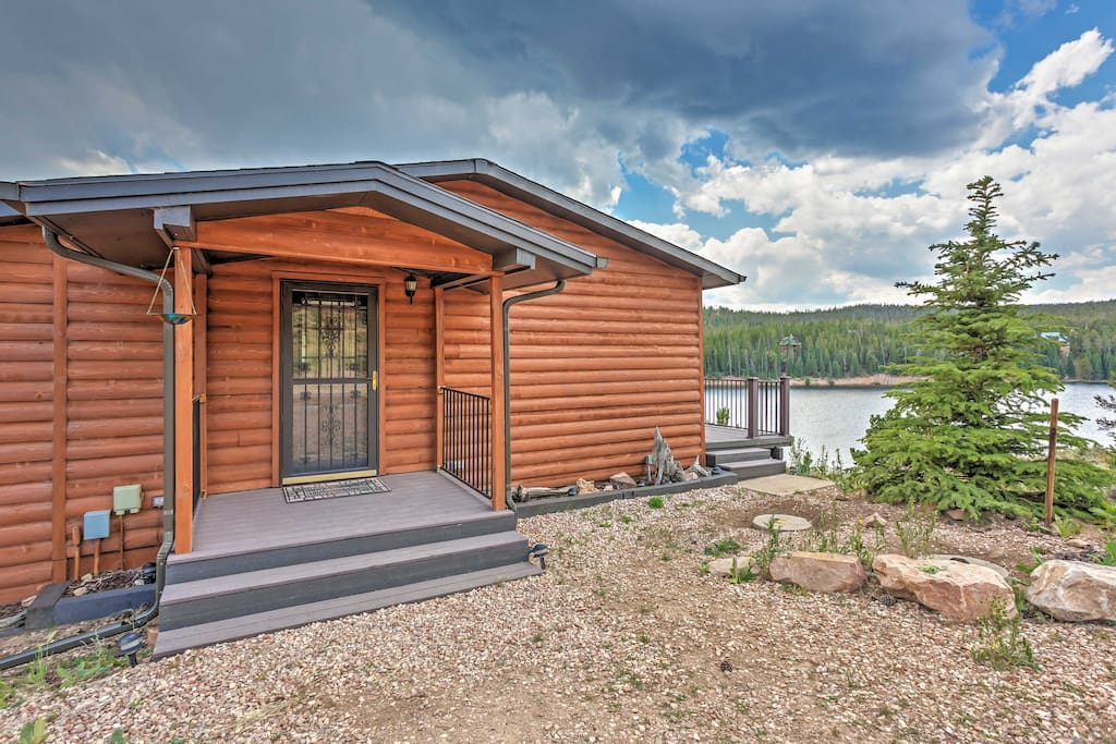 Escape to tranquil surroundings at this Red Feather Lakes vacation rental house!