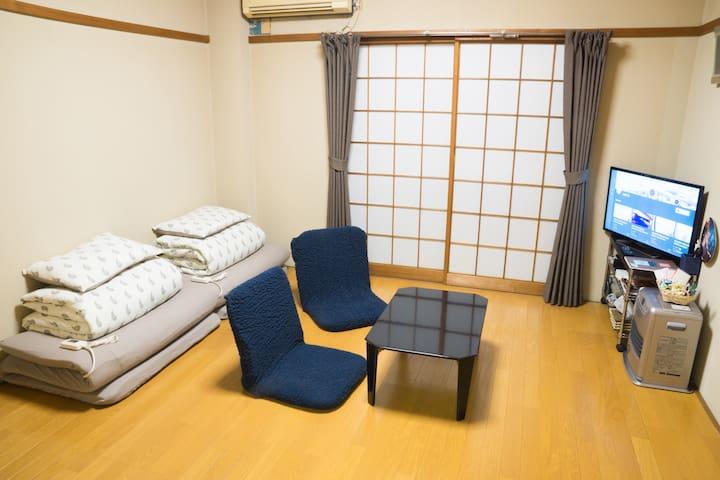 Central Toyama 10min, Best location in Toyama - Toyama-shi - Appartement