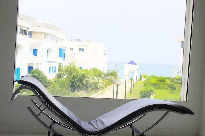 NEW VIP Sea View white loft