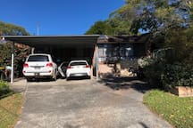 Off street parking for 3 cars. @ under carport