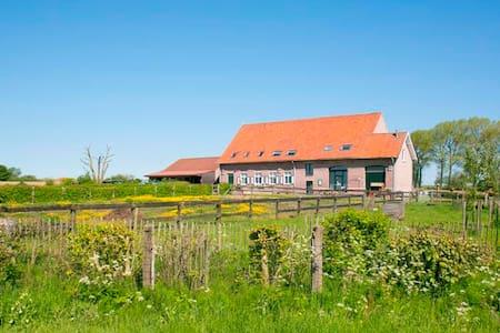 De Heksescheure-Vakantiewoning Landelijk genieten - Zonnebeke - บ้าน