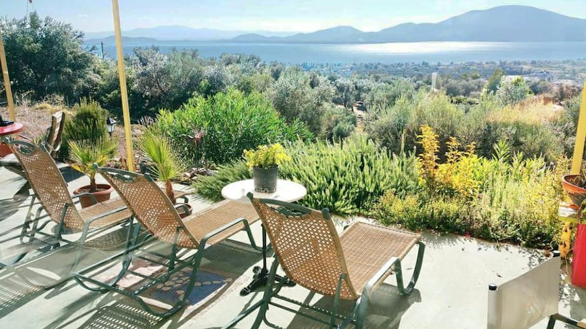 Villa in Evia with excellent view