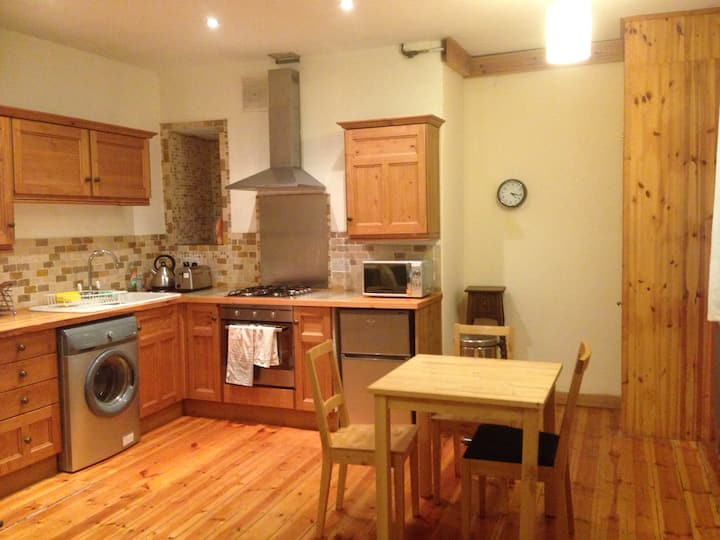 Basement floor flat in city long term renting only