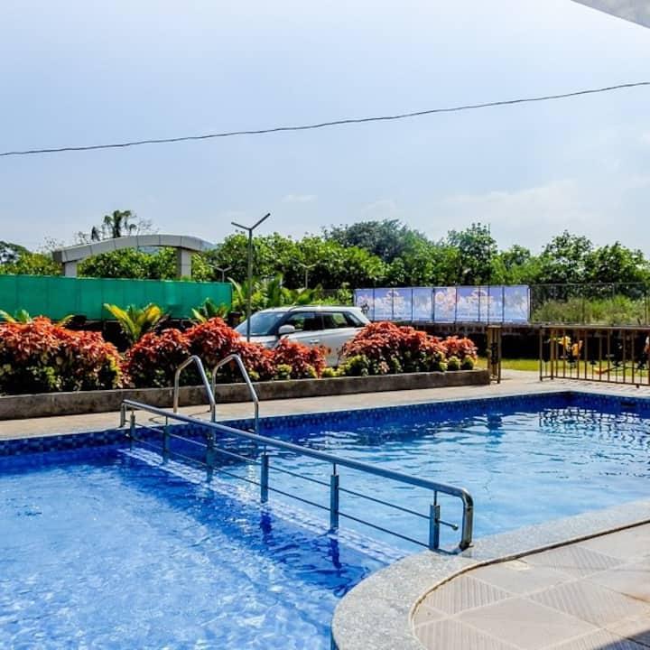 Vruhis Villa Resort Alibaug  Kashid Road