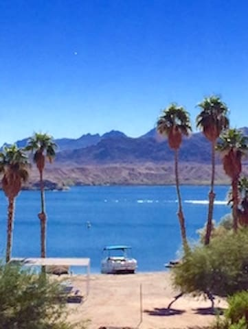 Best Lake View In Havasu! Waterfront On The Beach!