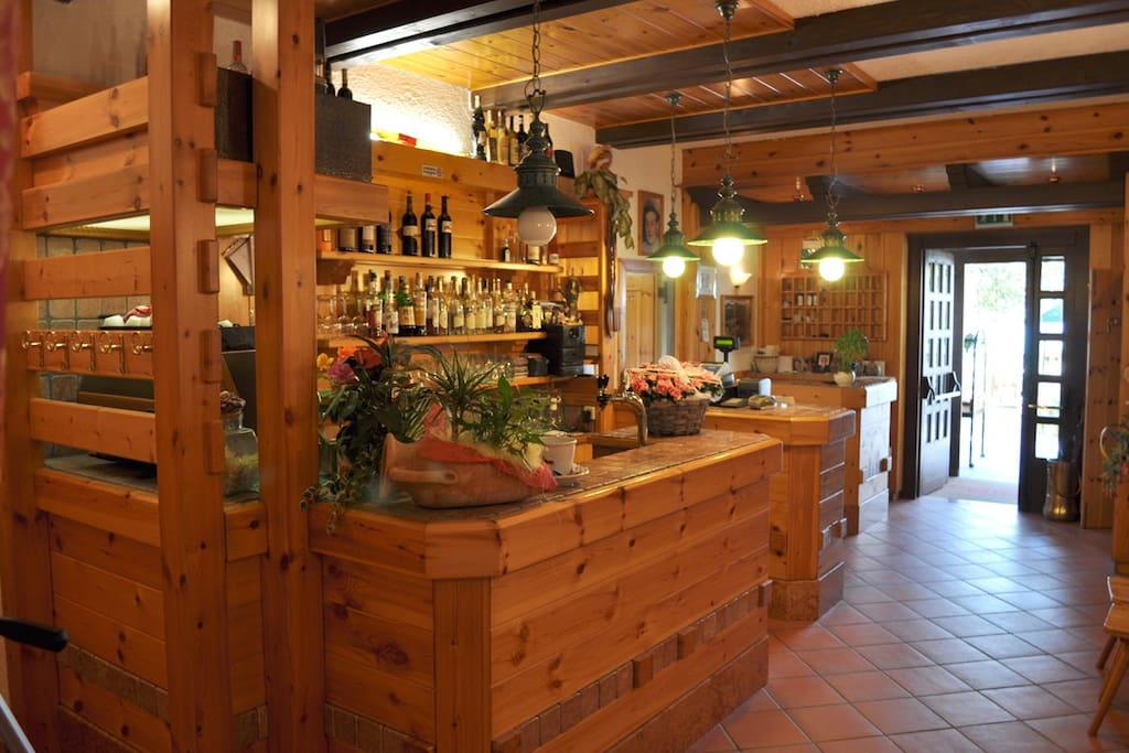 il bar nella hall