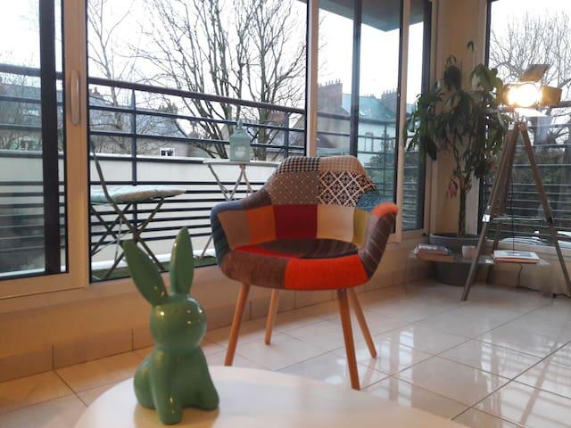 Appartement proche gare / face Jardin des Plantes