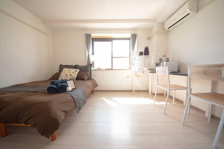 ターボハウス桜町113 : JR奈良駅から9分、観光や長期滞在にも◎、綺麗なお部屋