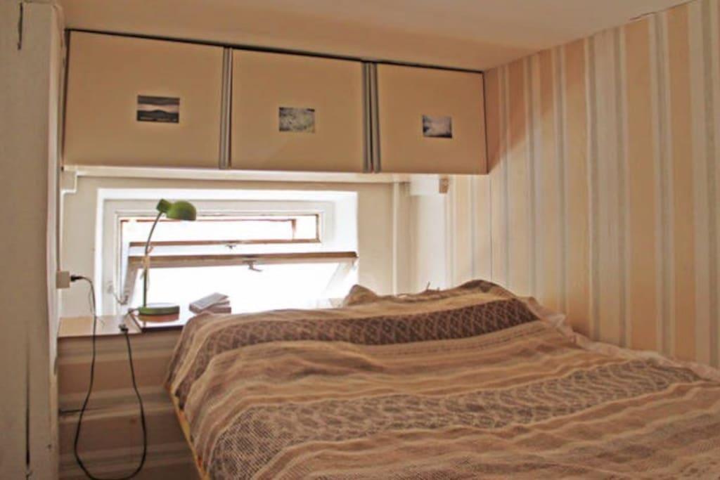 The second floor. Bedroom.