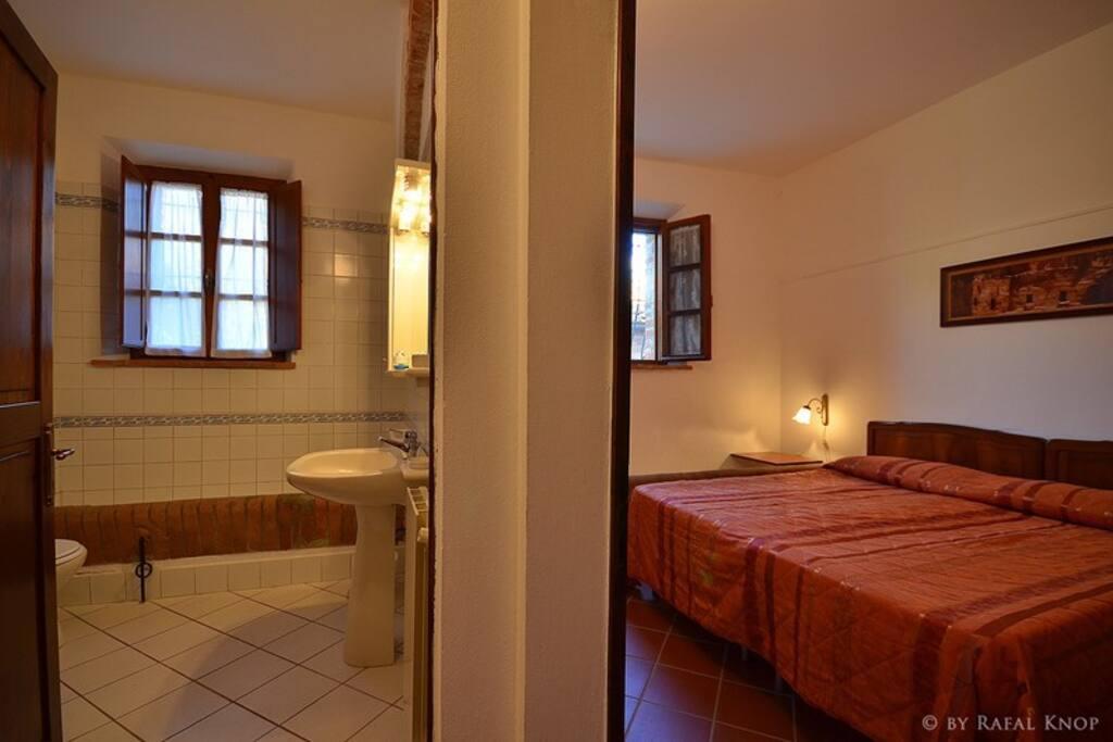 Il bagno e la camera