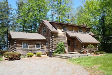 Private Log Home on Lake Champlain