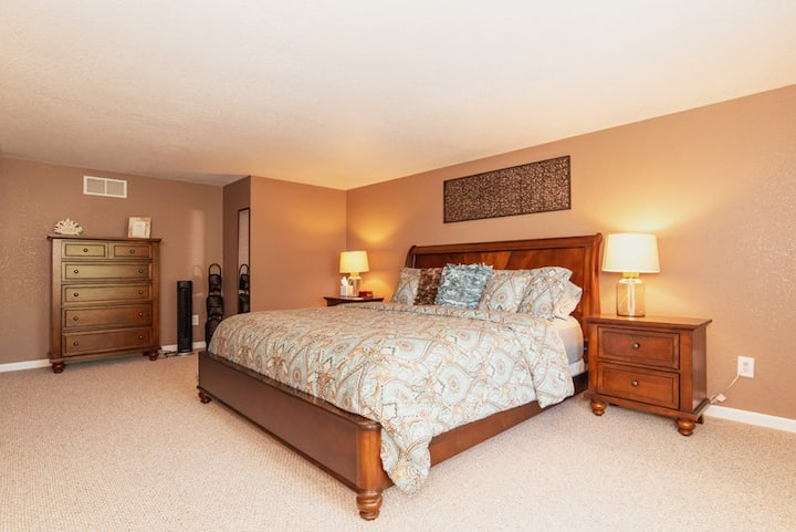 Guest Bedroom at the Lake of the Ozarks