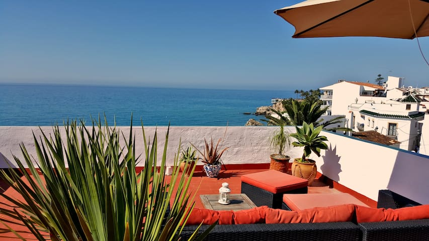 Seaview Apartment at beautiful Carabeo 78 - Nerja - Apartamento