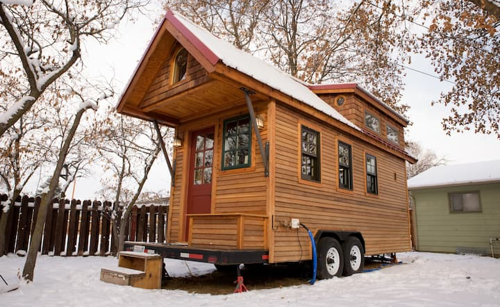 Gorgeous custom tiny home in central Missoula