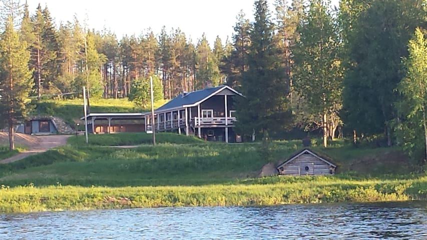 Villa in Lapland with underground Sauna