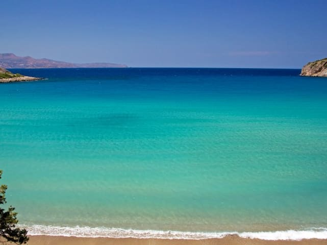 Sunny Family Home In Crete - Rousa Limni