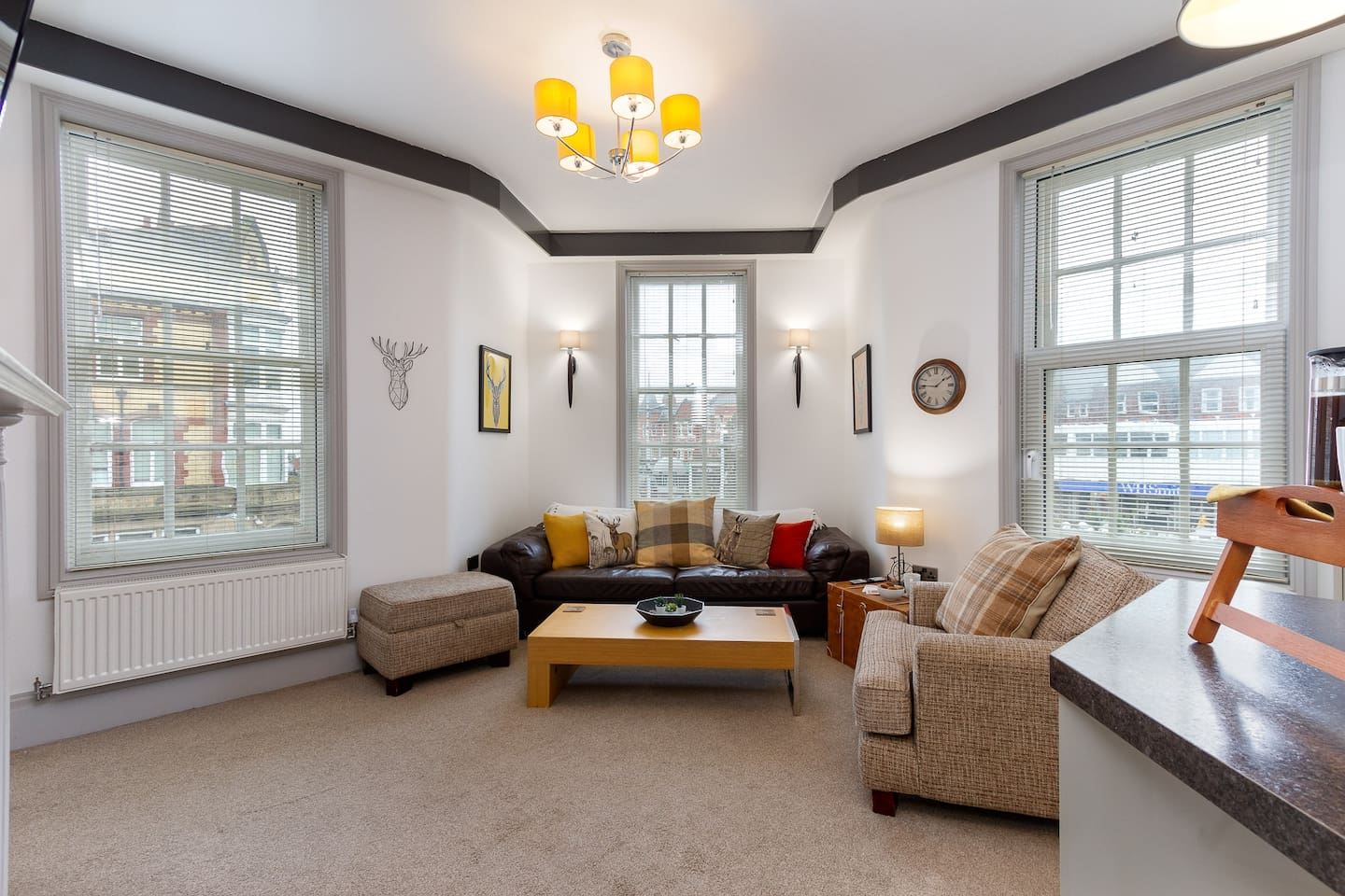 """Lounge  ⭐Our guests say:    """"A comfortable, characterful flat with the highest standard of furnishing, decor and appointments"""" ...  """"We highly recommend staying in these apartments.,you will not be disappointed""""⭐"""