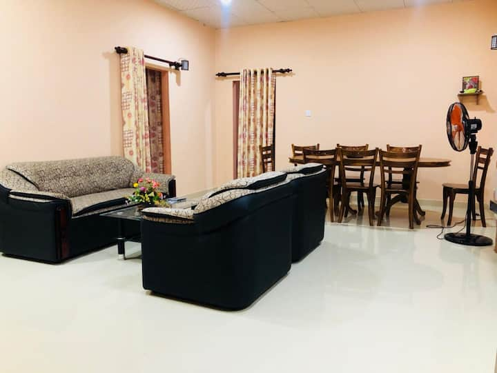 House for expatriate staff.