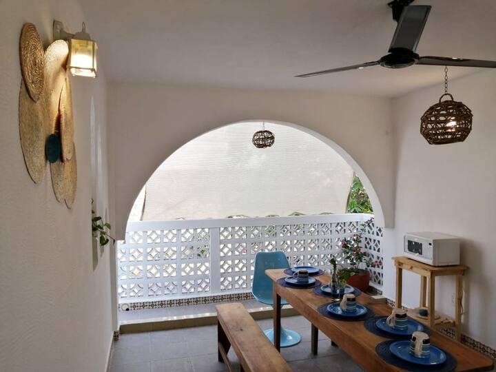 Villa Gran Caleta a sólo una calle del Mar