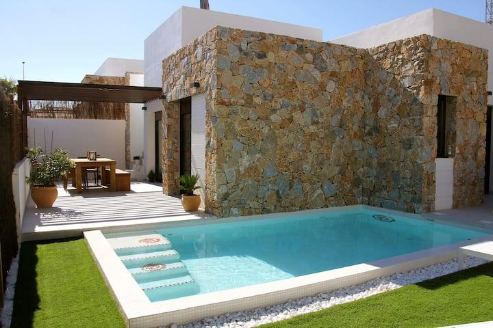 gezellig huis in Orihuela Costa met prive zwembad