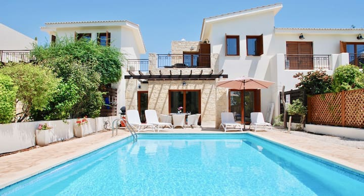 Villa Proteus with private pool and golf views