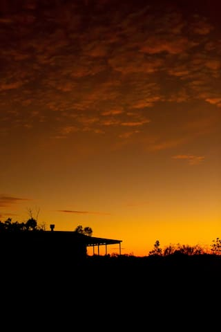 Cappock Cottage - Beautiful Sunsets